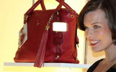 Le sac à main signé par la sublime Milla Jovovich