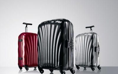 Les valises Samsonite Cosmolite sont à l'honneur sur Les Astuces de Clara.com