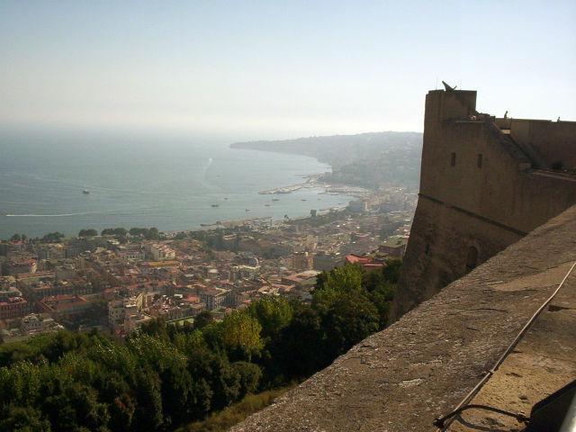 ville vue du Château Sant'Elmo