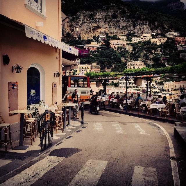 rue de positano italie