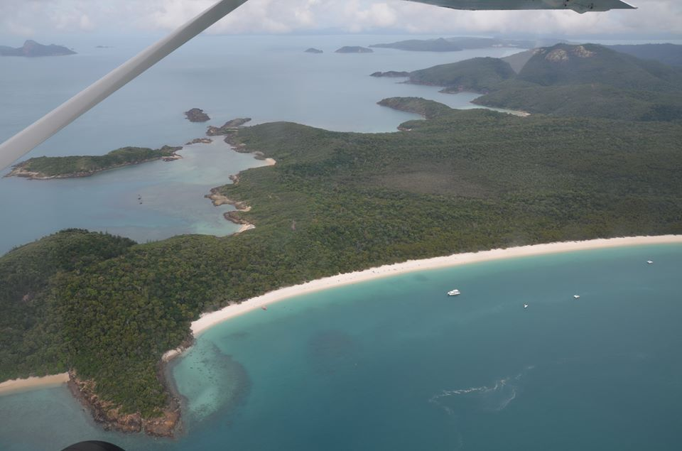 Vol au dessus de la Grande Barrière de Corail