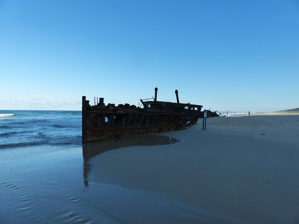L'épave du Moheno, Fraser Island